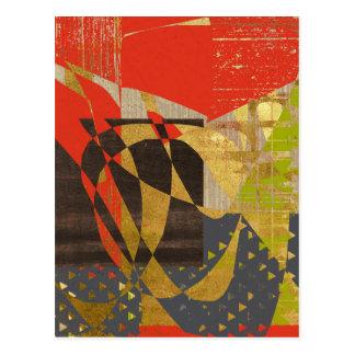 Gewürz abstrakt postkarte