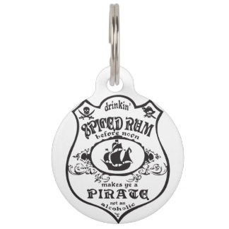 Gewürzter Rum-Pirat Tiermarke