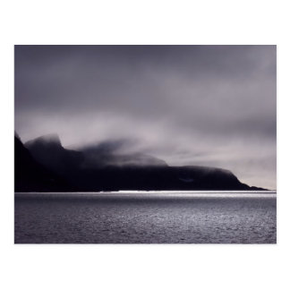 Gezackte Ufer in Svalbard, (Spitzbergen) Postkarten