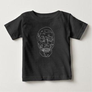 Gezeichneter Schädel Baby T-shirt