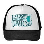 Gezeichnetes Logo Lake Tahoe Hand Retromützen