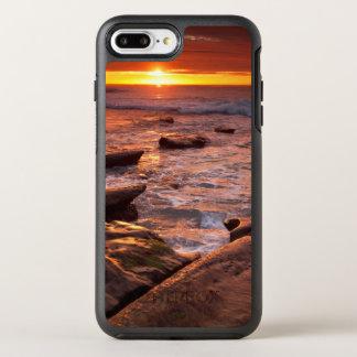 Gezeitenpools am Sonnenuntergang, Kalifornien OtterBox Symmetry iPhone 8 Plus/7 Plus Hülle