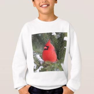 Gezierter Kardinal Sweatshirt