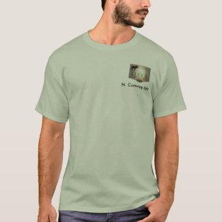 Geziertes Elch-Häuschen T-Shirt