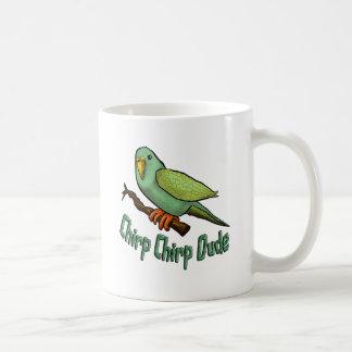 Gezwitscher-Gezwitscher-Typ Kaffeetasse