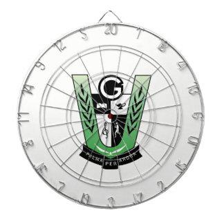 GGMSS 60. Schüler-Wiedersehen-Wappen-Pfeil-Brett Dartscheibe
