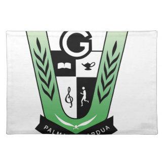 GGMSS 60. Schüler-Wiedersehen-Wappen-Produkte Tischset