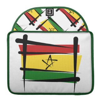 Ghana-Bürsten-Flagge Sleeves Für MacBooks