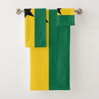 Ghana-Flagge Badhandtuch Set