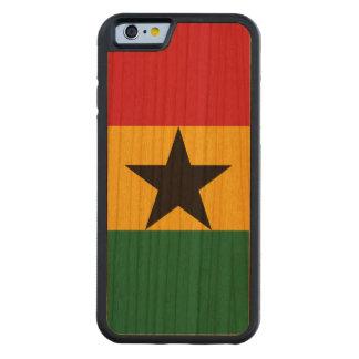 Ghana-Flagge Bumper iPhone 6 Hülle Kirsche