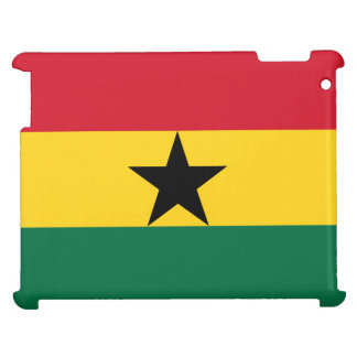 Ghana-Flagge iPad Hülle
