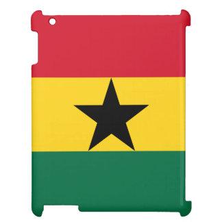 Ghana-Flagge iPad Schale