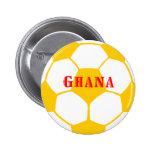 Ghana-Fußball Anstecknadel