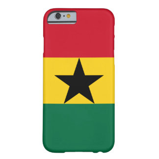 Ghana - ghanaische Flagge Barely There iPhone 6 Hülle