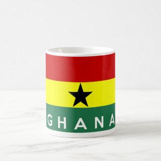 Ghana-Landesflaggetextname Kaffeetasse