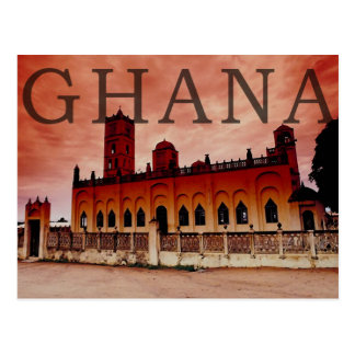 Ghana Postkarte