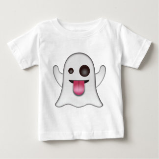ghost_emoji baby t-shirt