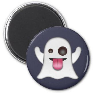 ghost_emoji runder magnet 5,1 cm