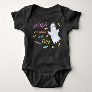 Ghouls wollen gerade, um Spaß zu haben Baby Strampler