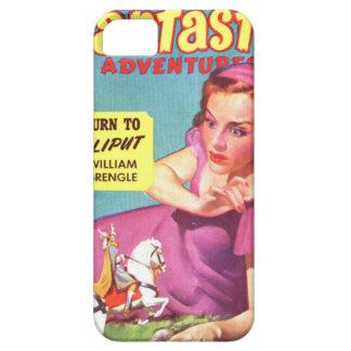 Giantess in einem Lavendel Kleid iPhone 5 Etui