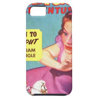 Giantess in einem Lavendel Kleid iPhone 5 Schutzhülle