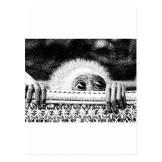 GibbonBaby Postkarte
