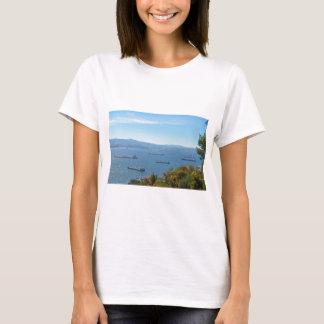 Gibraltar-Anchorage von oben T-Shirt