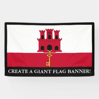 Gibraltar-Flagge Banner