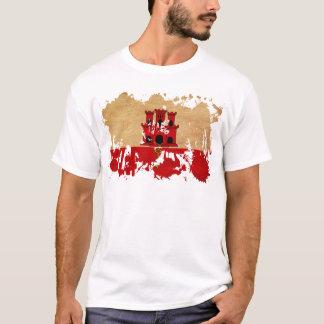 Gibraltar-Flagge T-Shirt