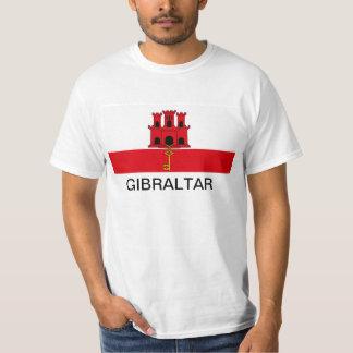 Gibraltar-Flaggen-T - Shirt