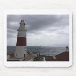 Gibraltar-Leuchtturm Mousepad