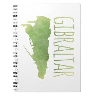 Gibraltar Spiral Notizblock