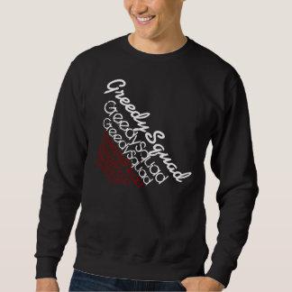 Gieriges Gruppe sweter Sweatshirt