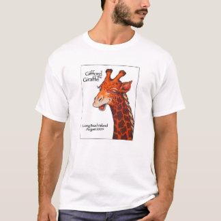 Gifford die Giraffe mit weißem Hintergrund T-Shirt