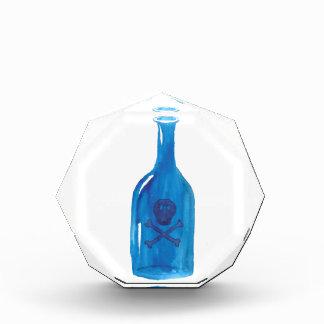 Gift-Flasche Acryl Auszeichnung