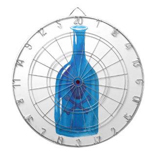 Gift-Flasche Dartscheibe