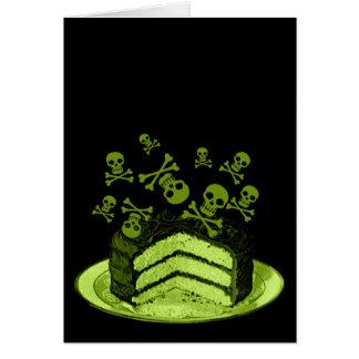 Gift-Kuchen Grußkarte