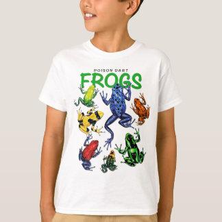 Gift-Pfeil-Frosch-T - Shirt