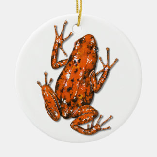 Gift-Pfeil-Frosch-Verzierung Keramik Ornament