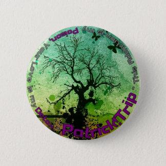 Gift und Detox Runder Button 5,7 Cm