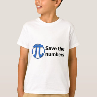 Gift weiß the numbers T-Shirt