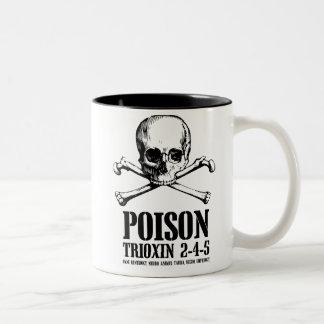 Gift-Zombie Trioxin 3-4-5 Dämmerung der Toten Zweifarbige Tasse