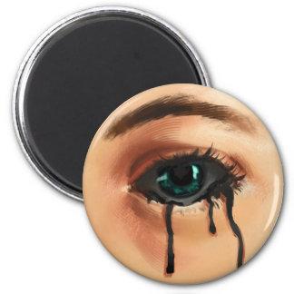 Giftige Risse Runder Magnet 5,7 Cm