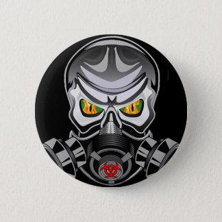 Giftiger Knopf Runder Button 5,1 Cm