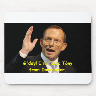 Giftiger Tony von Downunder Mousepad