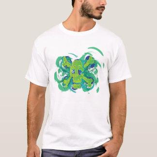 Giftiger Totenkopf mit gekreuzter Knochen T-Shirt