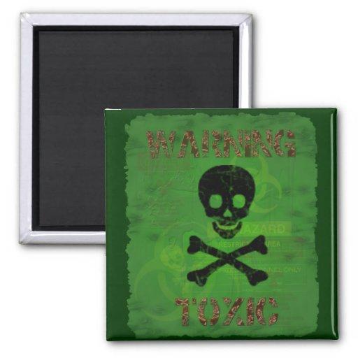 Giftiger warnender Magnet Magnets