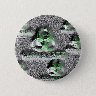 giftiges Grün des Runder Button 5,1 Cm