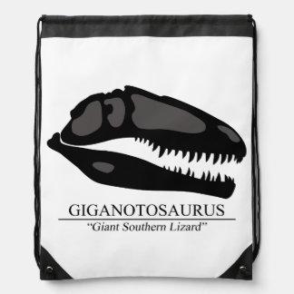 Giganotosaurus-Schädel Sportbeutel