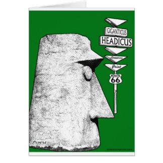 Giganticus Headicus Weg 66 Antares Straßengrün Karte